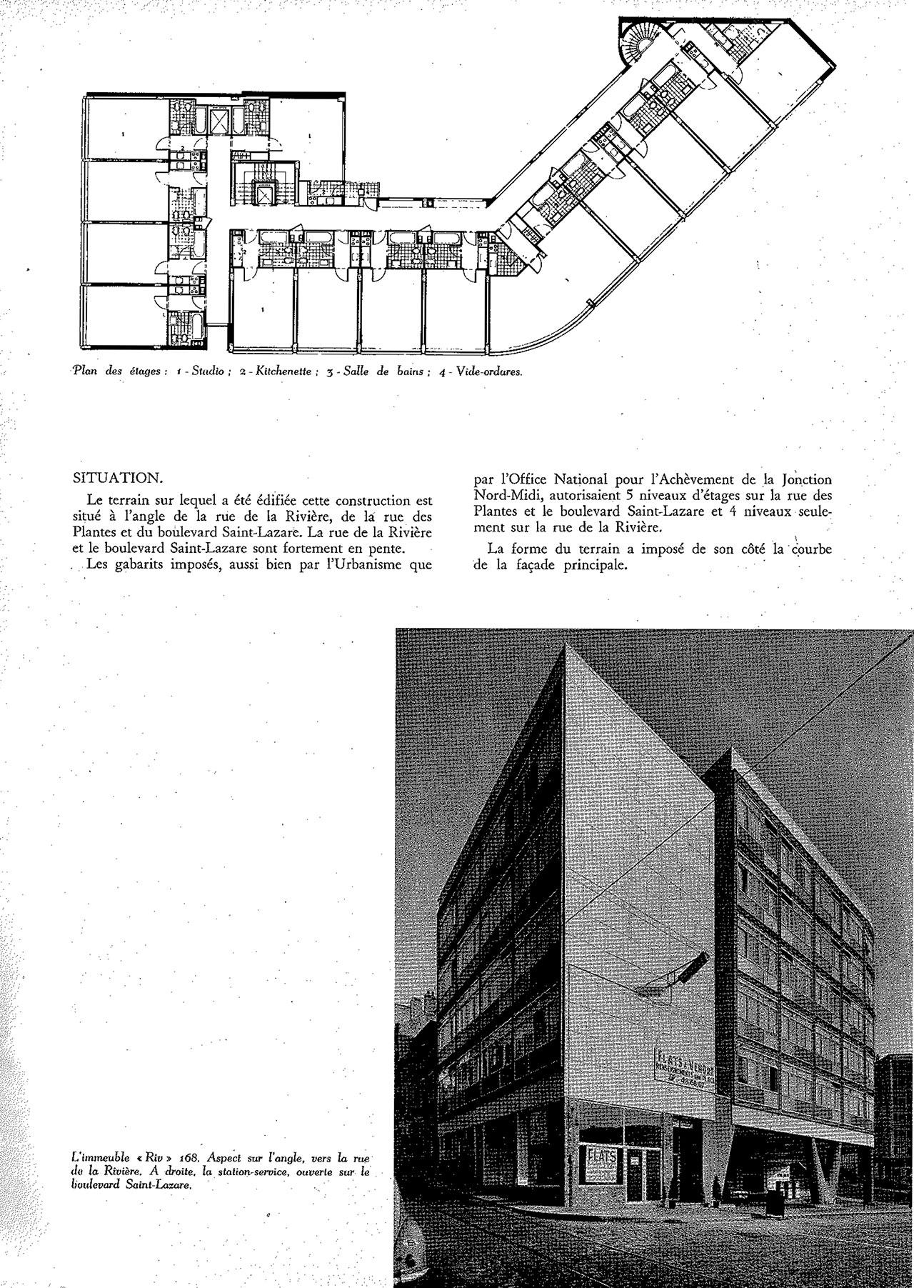 Immeuble Riv 168, à Bruxelles