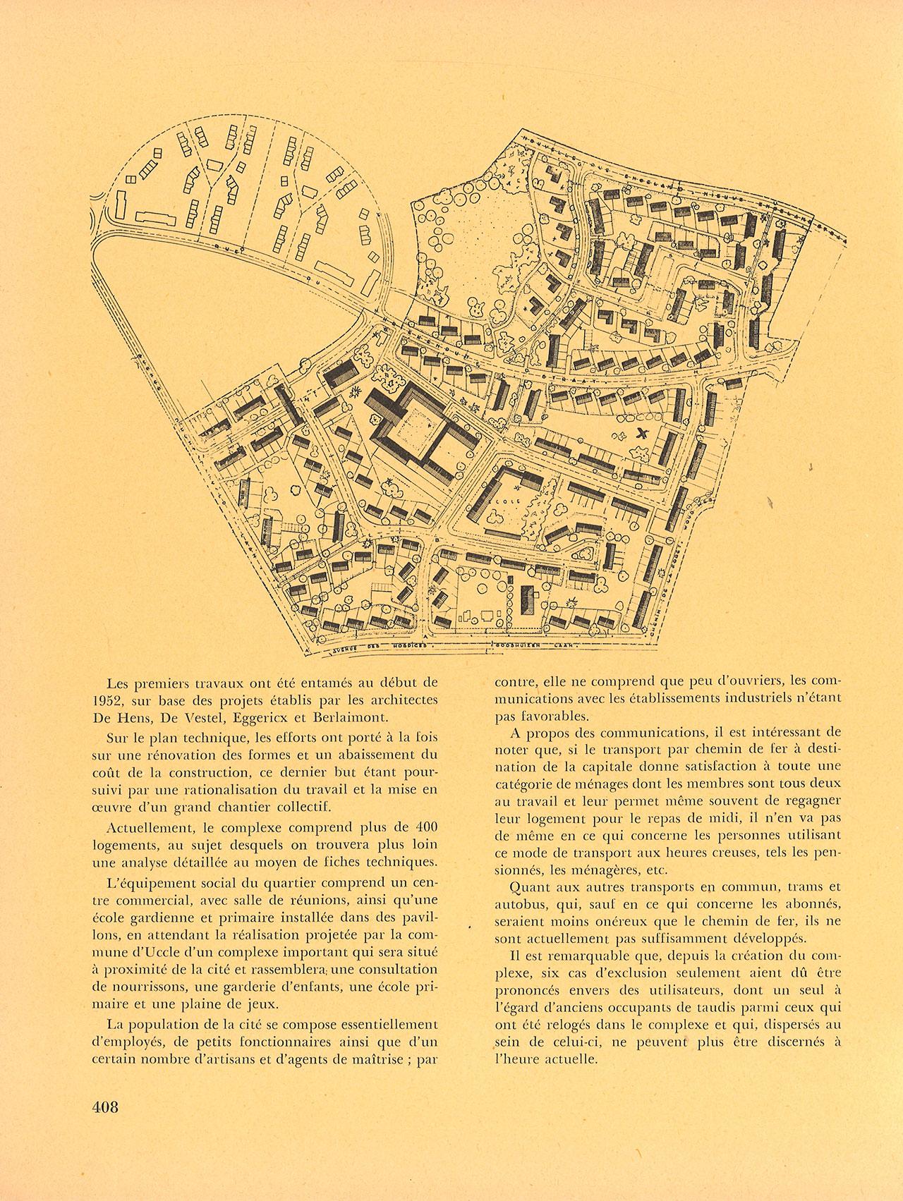 La cité Chantecler à Uccle