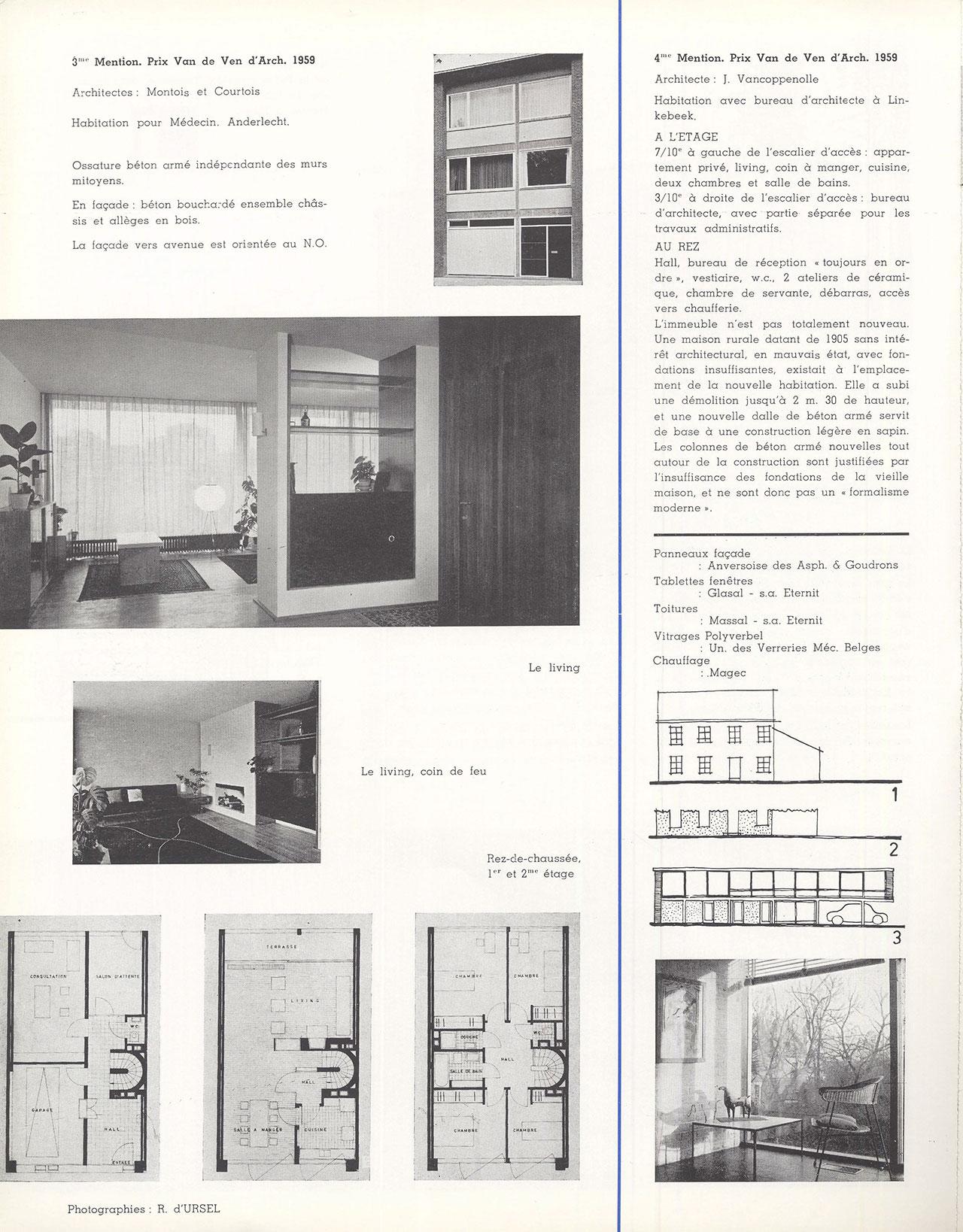 Habitation pour médecin, Anderlecht