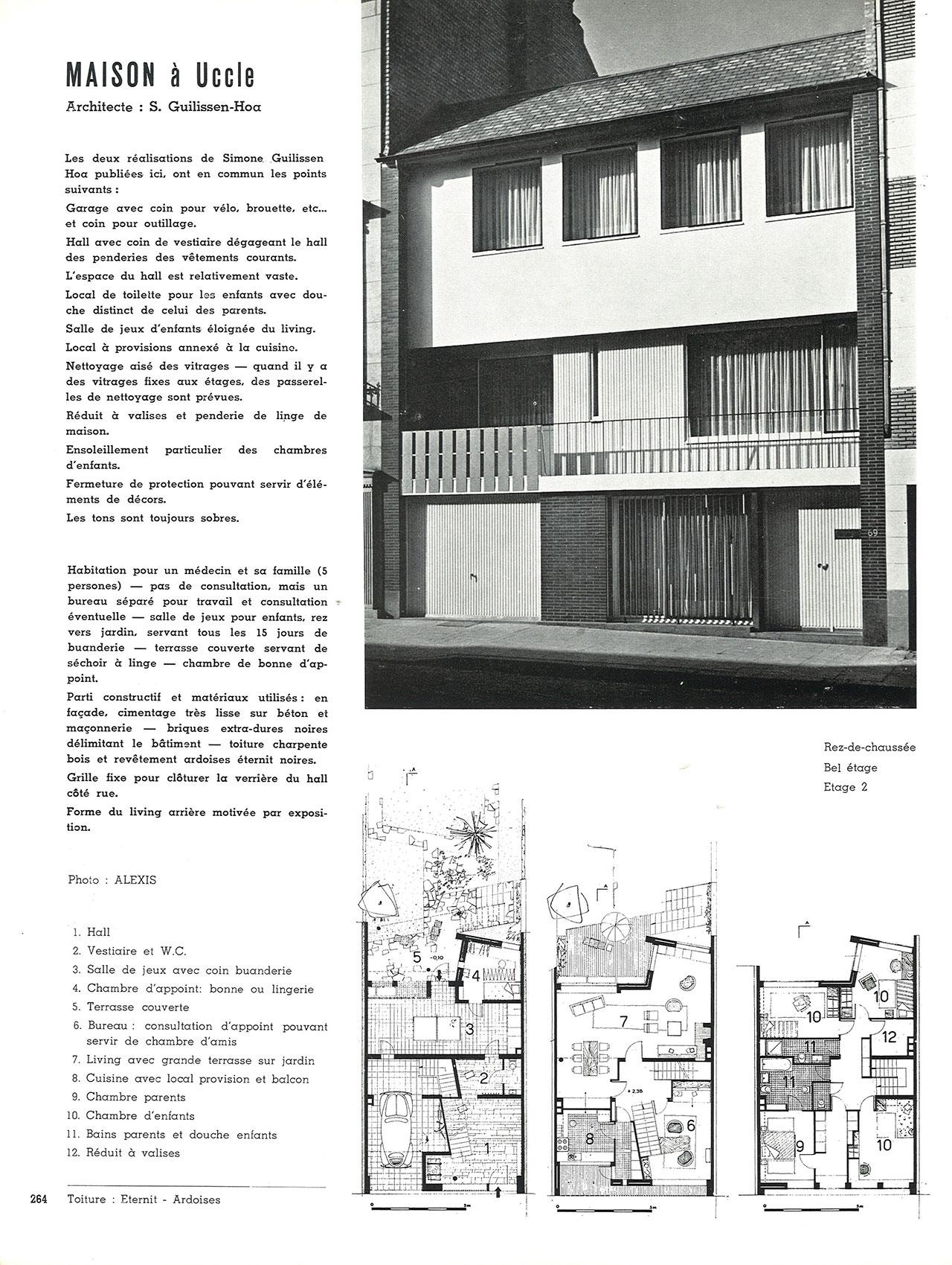 Maison à Uccle
