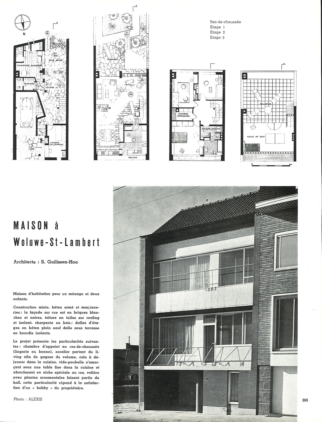 Maison à Woluwe-St-Lambert