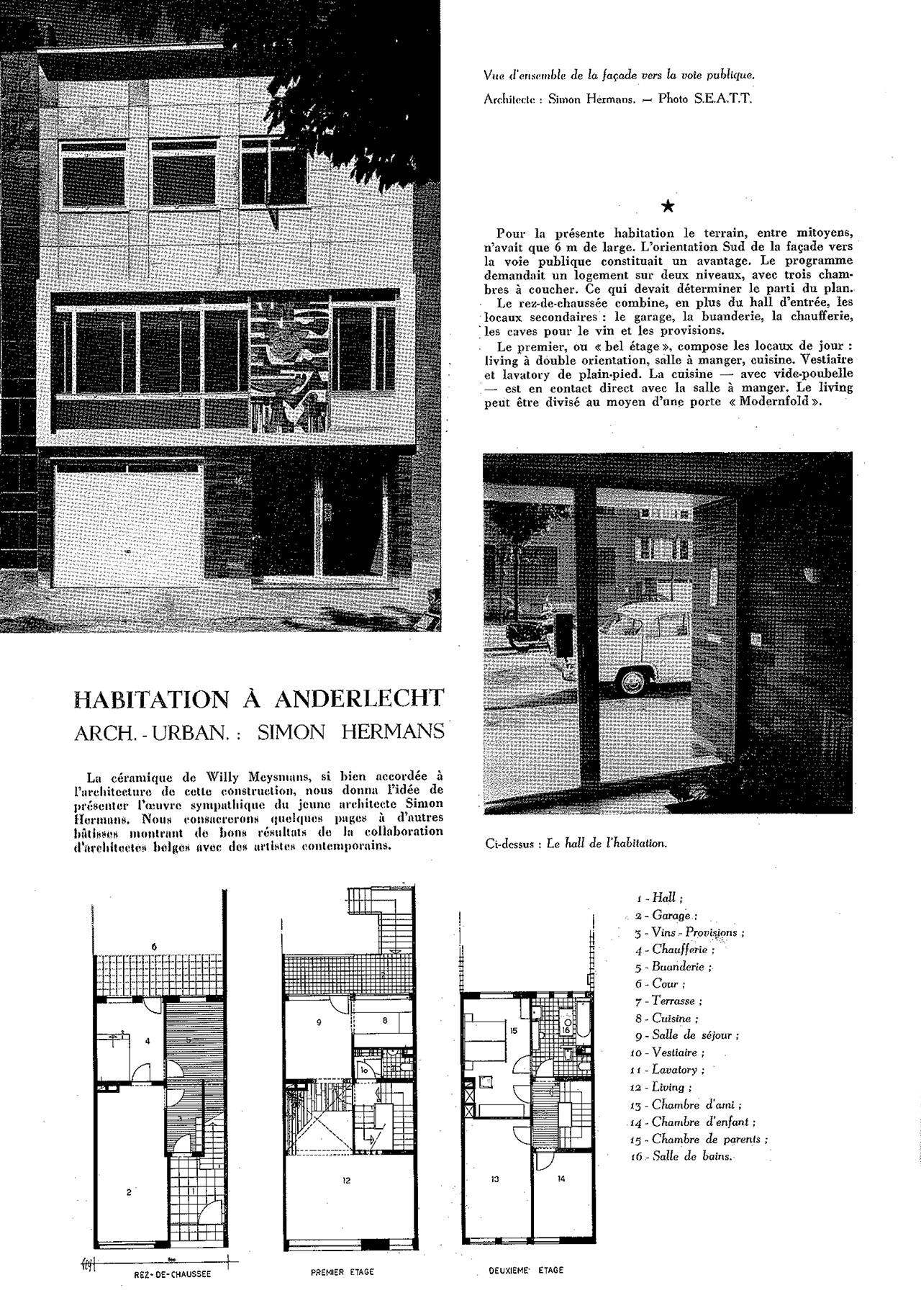 Habitation à Anderlecht