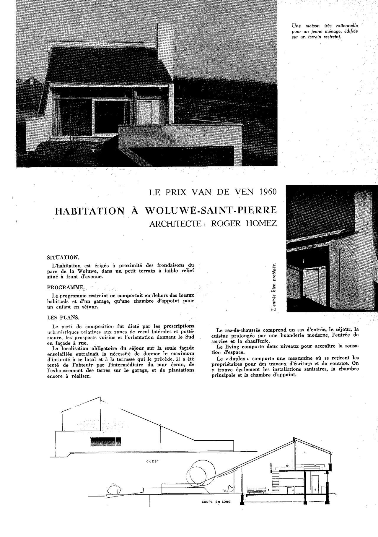 Habitation à Woluwé-St-Pierre