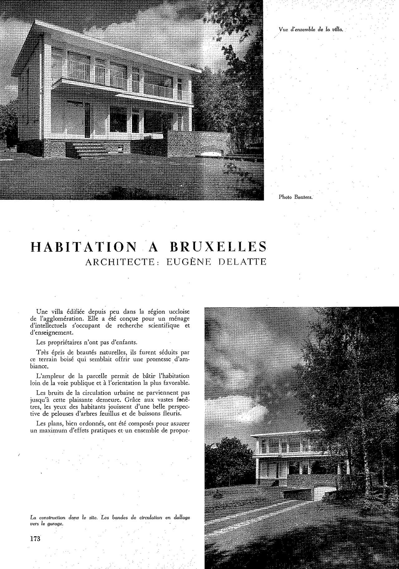 Habitation à Bruxelles