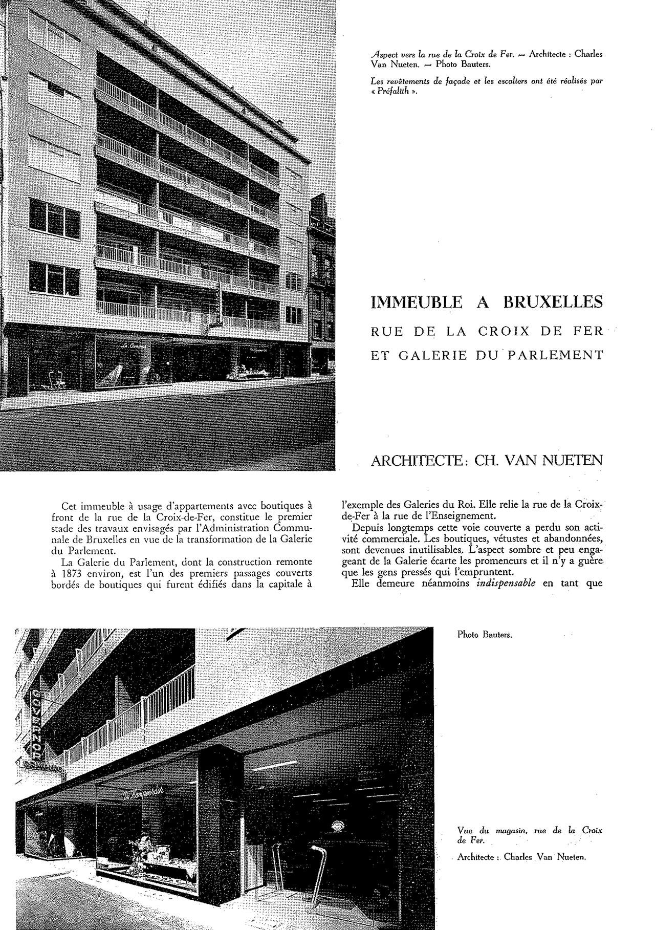 Immeuble à Bruxelles