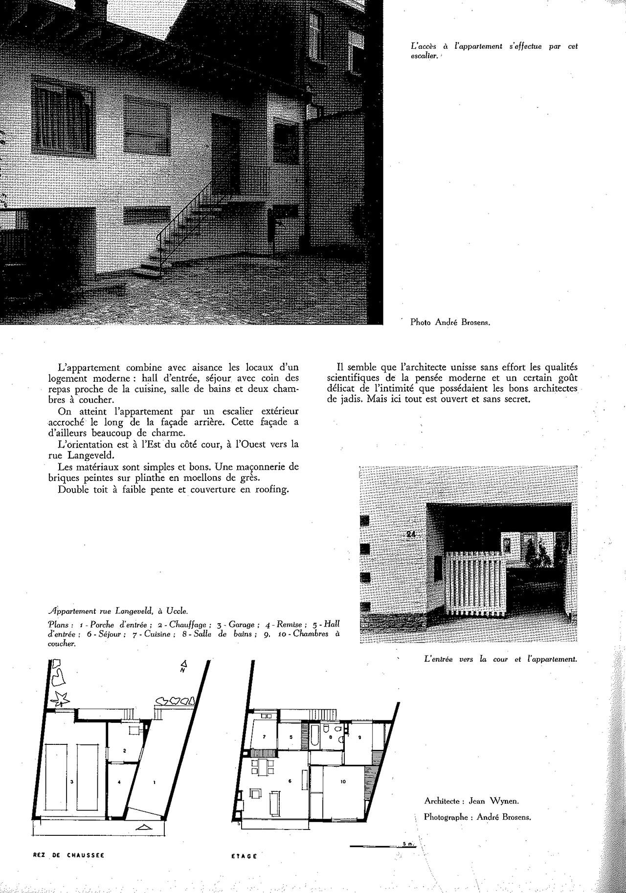 Appartement Rue Langeveld, à Uccle
