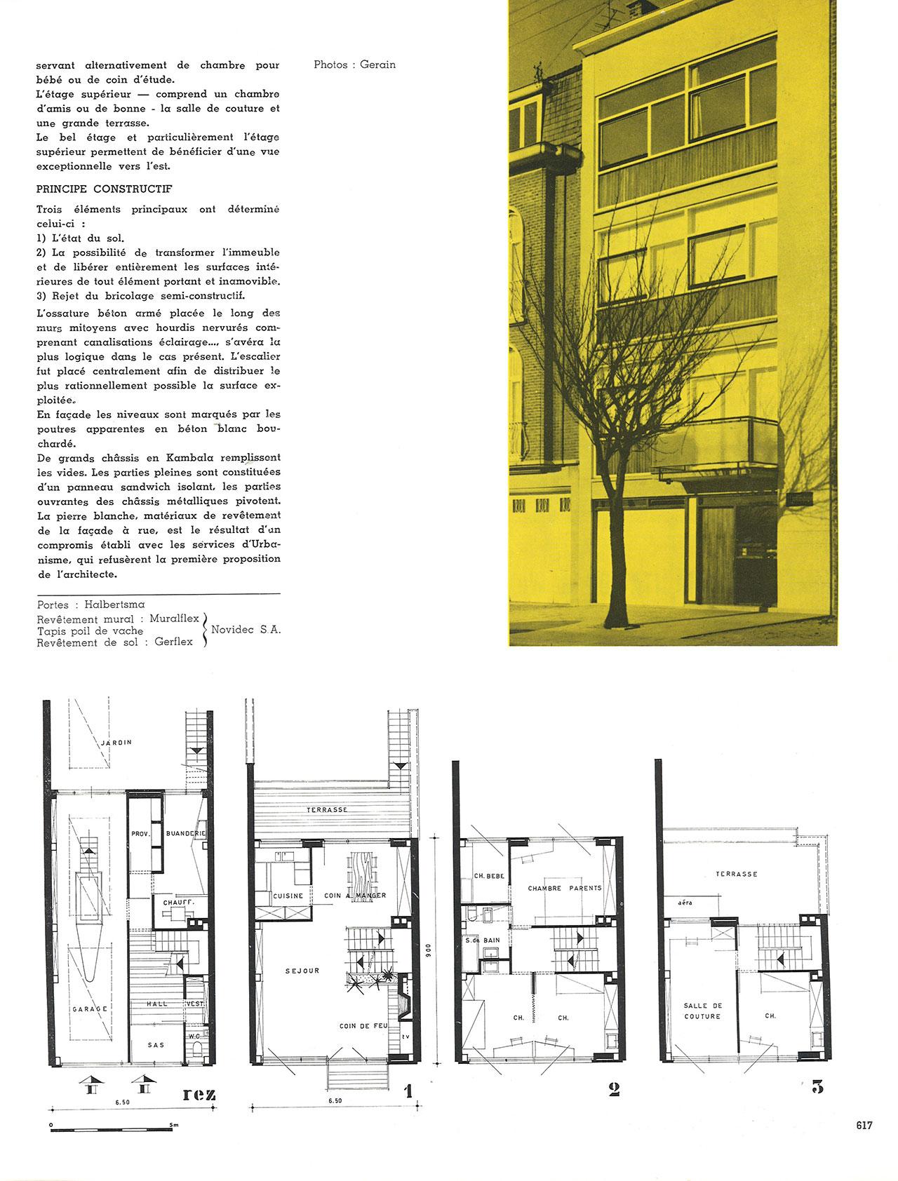 Immeuble d'habitation à Ganshoren-Bruxelles