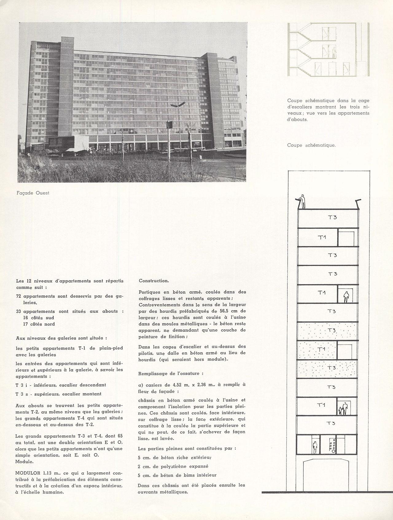 Immeuble à 105 appartements «Ieder Zijn Huis» à Evere