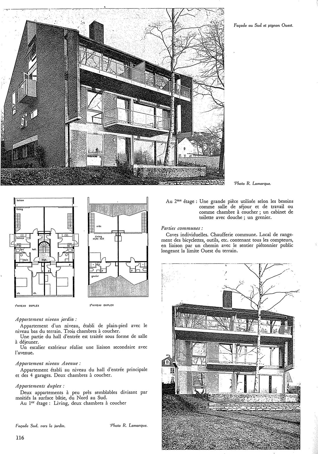 Immeuble villa de 4 appartements à uccle